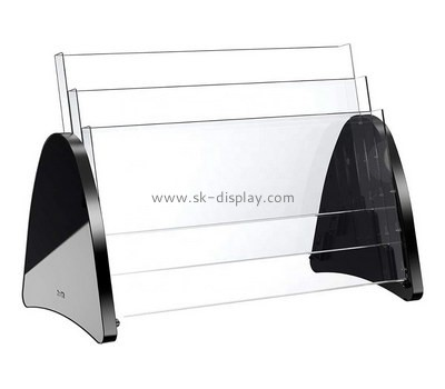 Custom table top acrylic pamphlet holder BD-949