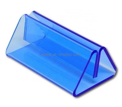 Custom blue acrylic sign holder BD-963