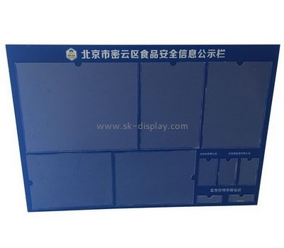Custom wall acrylic sign board BD-968