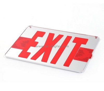Custom acrylic exit sign BD-973