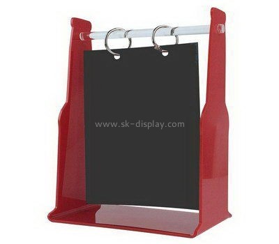 Custom table top vertical acrylic sign stands BD-981
