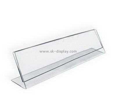 Custom acrylic price tag holder BD-980