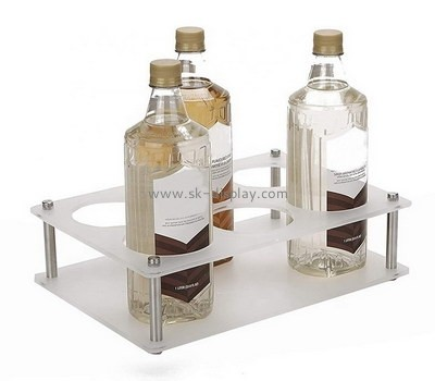 Custom acrylic 6 wine bottles holders WD-117