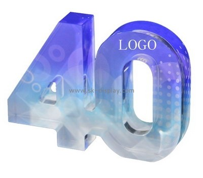 Custom cnc acrylic engraving letters CA-027
