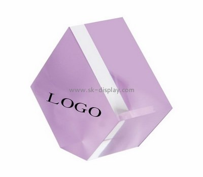 Customize laser cutting quadrilateral acrylic block CA-034
