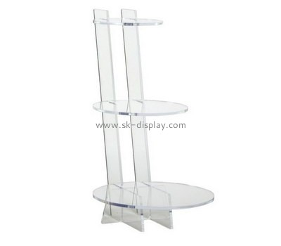 Custom 3 tiers acrylic cake display stands FD-265