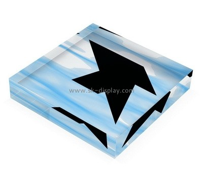 Custom acrylic UV printing block AB-013