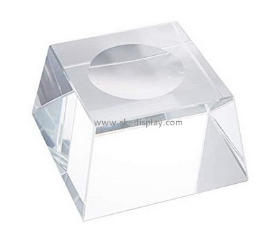 Custom clear acrylic soap dish block AB-084