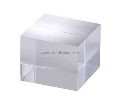 Custom plexiglass display cube AB-093