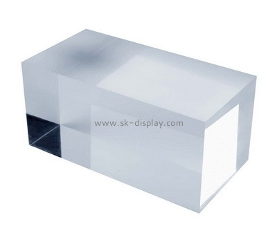 Custom perspex display cube AB-095