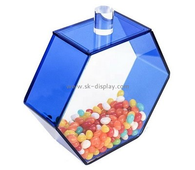 Custom acrylic candies display case FD-318