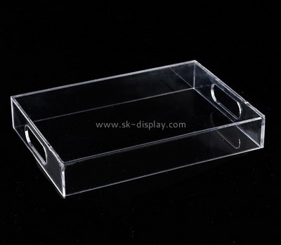 Custom clear acrylic desk tray STS-113