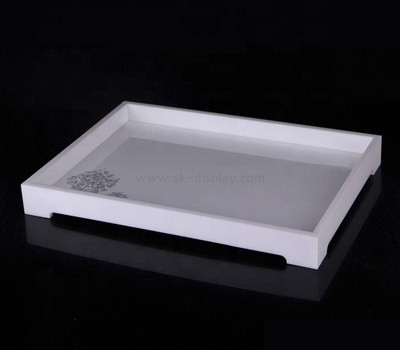Custom lucite platters STS-130