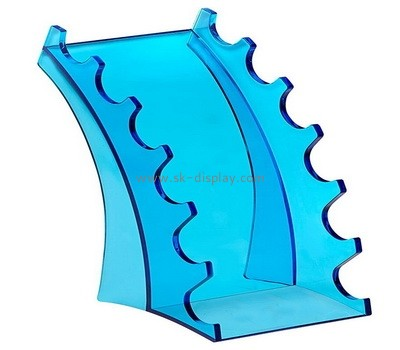 Custom blue acrylic pens display stands SOD-710