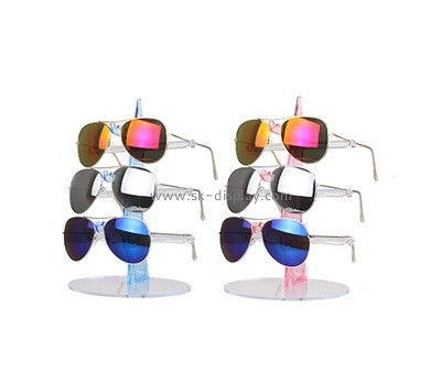 Custom acrylic sunglasses display stands SOD-805