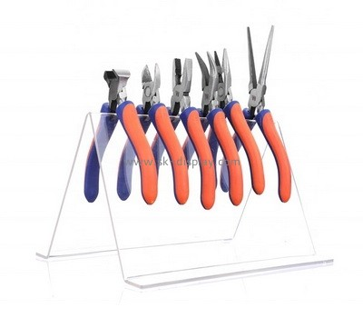 Custom V shape acrylic pliers display stand SOD-846